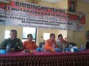 PPK Jatiuwung Gelar Bimbingan Teknis Pemutakhiran Data Pemilih di Kelurahan Keroncong