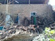 Dua Rumah di Kabupaten Serang Ambruk Terdampak Gempa