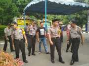 Kapolres Metro Tangerang Kota Sempatkan Melayat ke Rumah Duka Brigjen Pol Raden Muktar Pangabean