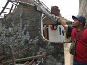 Cerita Mencekam Saat Gempa Meluluh Lantakan Rumah Warga di Tangerang