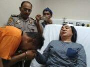 Polisi Wanita Babak Belur Dihujani Pukulan oleh Sopir Truk