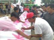 Posraya Indonesia Kecamatan Kresek Tangerang Kembali Gelar Aksi Dukung Zaki-Ombi