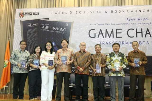 Peluncuran Buku Game Changing: Transformasi BCA