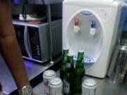 Tim Kalongwewe Tindak Restoran di Mal Alam Sutera Jual Miras