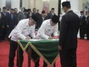 Gubernur Banten Lantik Pjs Wali Kota Tangerang Gantikan Arief
