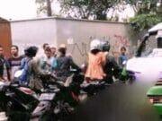 Sopir Angkot Tabrak Pengendara Motor di Curug
