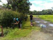 WBP Rutan Rangkasbitung Asimilasi di Kampus La Tansa Mashiro