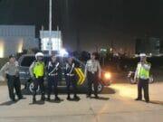 Hari Pertama Jabat Kapolsek Benda, Kompol Ubaidillah Gelar Operasi Cipkon dan Patroli Biru