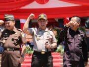 Kapolda Banten Beri Apresiasi Latihan Tripatra Sispam Kota Serang