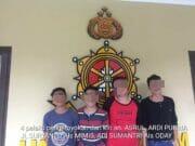 Polres Tangerang Selatan Gulung Komplotan Preman Kampung Yang Meresahkan