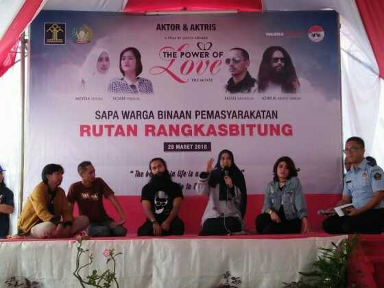 Artis Film 212 The Power of Love Sapa Warga Binaan Pemasyarakatan Rutan Rangkasbitung