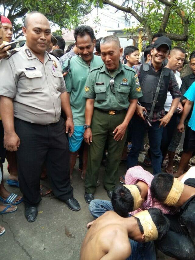 4 Orang Terduga Pelaku Curanmor Dibekuk Petugas Polsek Cikupa