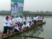 Dinas Perikanan Kabupaten Tangerang dan Himaputra Tanam 30 Ribu Pohon Mangrove di Mauk