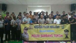 Kapolsek Neglasari Jalin Sinergi 3 Pilar Jelang Pilkada Kota Tangerang