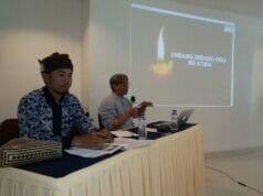 Lokakarya Refleksi Tiga Tahun Implementasi UU Desa, Jaro Ruhandi Berbagi Pengalaman Memimpin Desa Adat