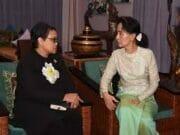 Menteri Luar Negeri Retno Marsudi Mengatakan Indonesia Kembali Mengajak Negara - Negara ASEAN Untuk Bekerjasama