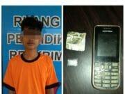 Diduga Edarkan Shabu, AR Digulung Polsek Kronjo Tangerang