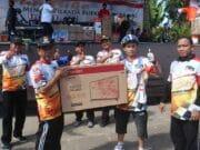 KPU Kabupaten Tangerang Menggelar Fun Bike Menuju Pilkada 2018