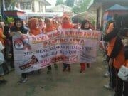 Sukseskan Pilkada Kota Tangerang, Ribuan Warga Padati Aksi Gerak Jalan Pagi di Karang Tengah