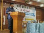 Hadir di Acara Seminar Keperawatan, Ali Taher Sampaikan Tiga Prioritas Utama