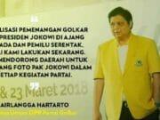 Golkar Kompak Mendukung Airlangga Hartarto CAWAPRES Joko Widodo