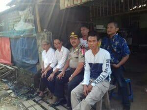 Kapolsek Karawaci Pimpin Langusng Pengaman Aksi Damai Jilid 2 dan Istighosah KP. Galeong