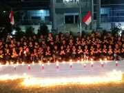 Mahasiswa Buddhis STABN Sriwijaya Menggelar Doa Bersama untuk Para Korban Bom Surabaya