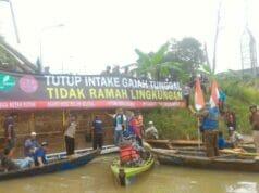 Dianggap Cemari Sungai Cisadane, Intake Milik PT Gajah Tunggal Tbk Didemo