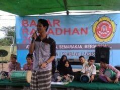 Karang Taruna Blok G Perum Mustika Tigaraksa Menggelar Kegiatan Bazar Ramadhan