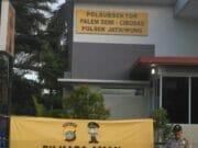 Jelang Pilkada Serentak, Polsek Jatiuwung Pasang Spanduk Pilkada Tahun 2018