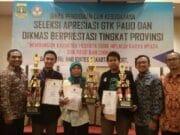 Sonil TBM Himata Raih Juara III Lomba Apresiasi GTK PAUD dan DIKMAS.