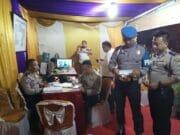Kapolsek Ciledug Pamenwas Kompol Supiyanto Kontrol Pos Pam Ops Ketupat Jaya 2018 di Wilayah Polsek Batu Ceper