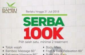 Treatment di Bambu Spa Cuma Rp100 Ribu,Mau? Banten