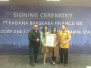Lebarkan Sayap Bisnis, Radana Finance Gandeng Rumah Robot Dan Bambu Spa Untuk Jalin Kemitaraan