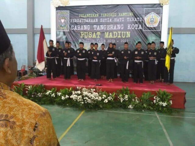 PSHT Cabang Tangerang Kota dan Pusat Madiun Mengkukuhkan Pengurus Ranting