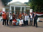 Alumni STM Borobudur Diundang Upacara di Istana Merdeka