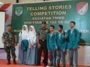 Sekitar 80 Pelajar SLA Ikuti Lomba Telling Stories Competition Dalam Giat TMMD Non Fisik
