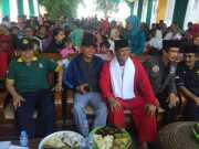 Hartoto Suharto Anggota DPRD kota Tangerang Yang Hadir Pada Pagelaran Seni Budaya Betawi Di Larangan
