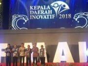 WH Raih Penghargaan Sebagai Kepala Daerah Inovatif