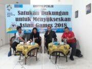 Satukan Dukungan untuk Sukseskan Asian Games 2018
