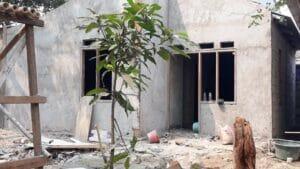 """Program Bedah Rumah Polres Tangsel, Ibu Mamah : Alhamdulilah Rumah Saya Sudah Layak Di Huni"""""""