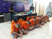 12 Remaja Ini Diciduk Polisi Diduga Edarkan Narkoba Di Tangsel