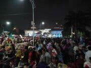 Nisa Sabyan Manggung Di Festival Al azhom,Banyak Pengunjung Anak Tergencet