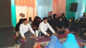 Jazuli dan Fadlin Di Do'akan Ustazah Majlis Taklim SeKota Tangerang