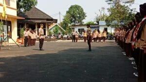 93 Saka Bhayangkara Polsek Pondok Aren Angkatan VIII Resmi Dilantik