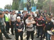 Tak Terima Warganya di PHK, Ratusan Anggota Ormas Gruduk PT.SMU