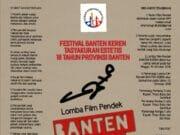 Dewan kesenian Banten Gelar Lomba Film Pendek Berbasis Smartphone