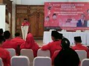 Rakorcab PDIP Tangsel,Beri Pembekalan Caleg dan Strategi Pemenangan 2019