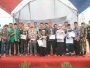 GP Ansor Mekar Baru Ajak Generasi Milenial Gaungkan Sholawat