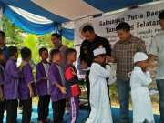 Peduli Yatim, Gapura Tangsel Adakan Gathering dan Santunan